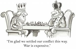 chess game conflict