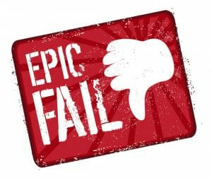 Epic fail stamp